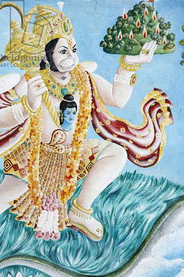 Hanuman monkey god (photo)