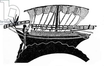 Greek trading or merchant ship 5th century BC
