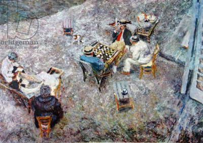 Draughts 1906 by Jean-Édouard Vuillard (1868 – 1940)