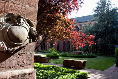 Cloister in the Mainzer Dom (Mainz Cathedral Or St. Martin's Cathedral), Mainz, Germany (photo)