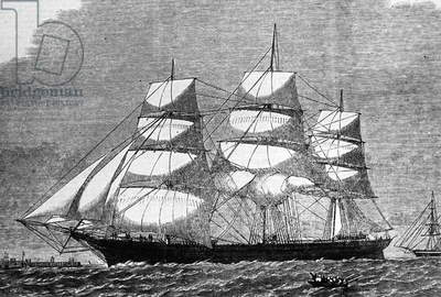 The ship 'Glad Tidings', 1850
