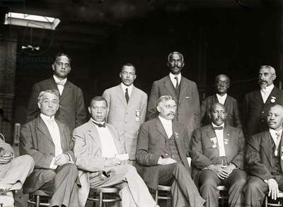 National Negro Business League Executive Committee; Booker T. Washington (photo)