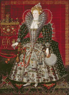 Queen Elizabeth I (1533-1603), c.1592 (oil on canvas)