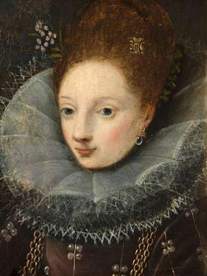 An Unknown Spanish Lady (copy after 17th century Spanish/Italian original)