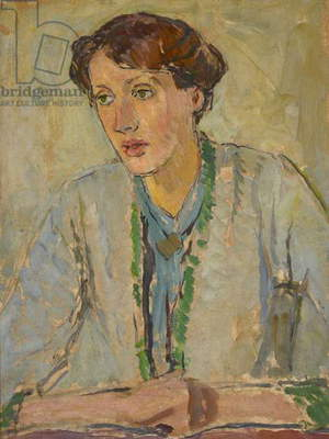 Virginia Woolf, c.1912 (oil on panel)