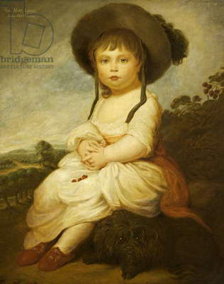 The Hon. Mary Bilson Legge, later Lady Sherborne (1780 - 1864), as a girl