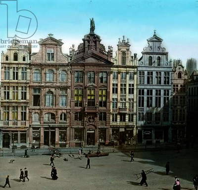 Old guild halls in the Brussels city centre
