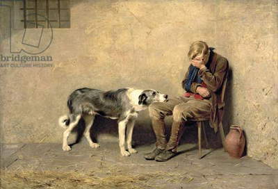 Fidelity, 1869 (oil on canvas)