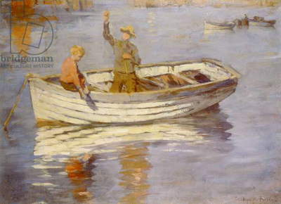 The Young Fishermen (oil)