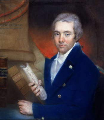 Portrait of William Wilberforce (1759-1833) by William Lane (1746-1819) (pastel on paper)