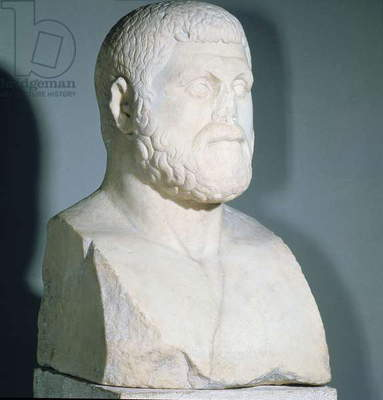 Portrait bust of Themistocles, Athenian statesman and naval commander (c