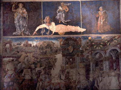 Allegorical representation of the signs of the zodiac from the