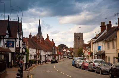 Henley-in-Arden High Street, Warwickshire, 2011 (photo)