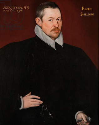 Ralph Sheldon, 1590 (oil on canvas)
