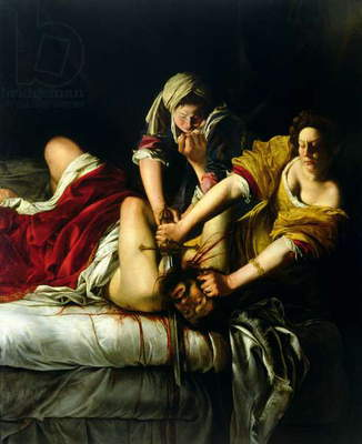 Judith and Holofernes, 1612-21 (oil on canvas)