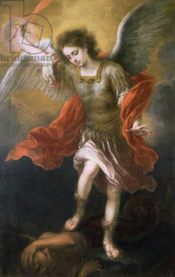 Saint Michael banishes the devil to the abyss, 1665/68