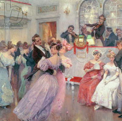 Strauss and Lanner - The Ball, 1906