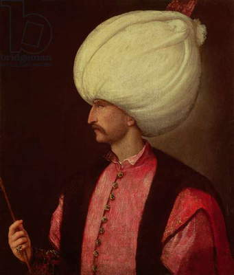 Suleiman the Magnificent (1494-1566), Sultan of Turkey (oil on canvas)