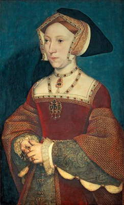 Jane Seymour, 1536 (oil on panel)