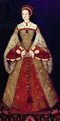 Portrait of Catherine Parr, c.1545 (oil on panel)