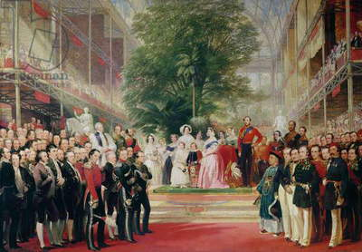 The Opening of the Great Exhibition, 1851-52 (oil on canvas)