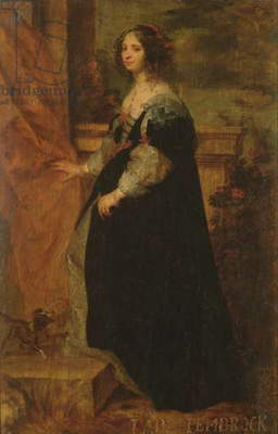 Portrait of a Lady, c.1650 (oil on board)