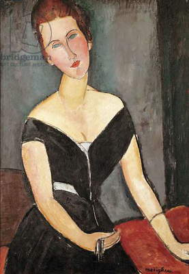 Madame G. van Muyden, 1917 (oil on canvas)