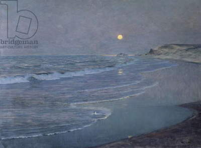 Seascape, c.1892-93 (oil on canvas)
