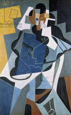 Figure of a Woman, 1917 (oil on canvas)