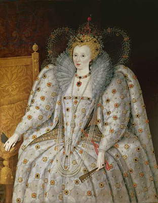 Queen Elizabeth I of England and Ireland (1533-1603) (oil on canvas)