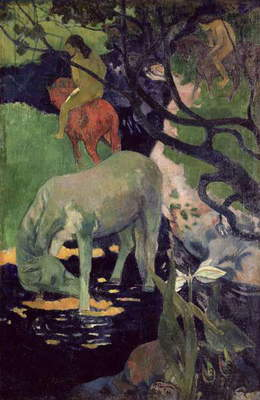 The White Horse, 1898 (oil on canvas)