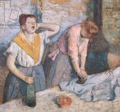 The Laundresses, c.1884 (oil on canvas)