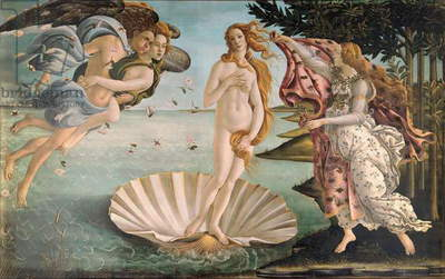 The Birth of Venus, c.1485 (tempera on canvas)