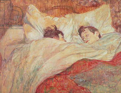 The Bed, c.1892-95 (oil on cardboard)