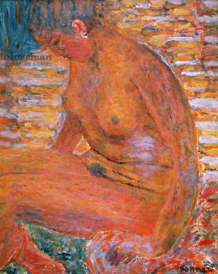 Sombre Nude, 1941 (oil on canvas)