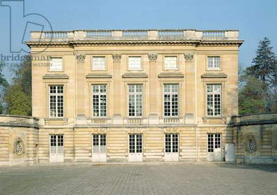 View of the Courtyard Facade of the Petit Trianon, 1762-4 (photo) View of the Courtyard Facade of the Petit Trianon (photo)