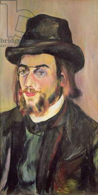 Portrait of Erik Satie (1866-1925) c.1892 (oil on canvas)