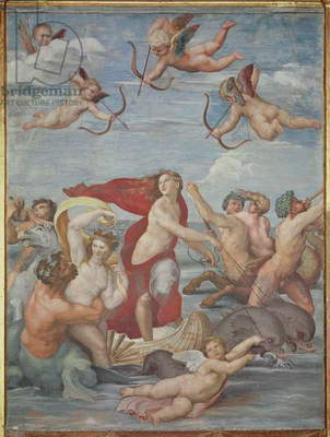 The Triumph of Galatea, 1512-14 (fresco)