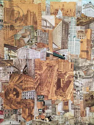 Metropolis, 1923 (collage) (see also 79301)