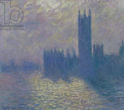 The Houses of Parliament, Stormy Sky, 1904 (oil on canvas)