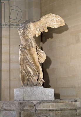 The Victory of Samothrace (Parian marble) (see also 54788, 92583 & 94601-03, 239936, 326608)