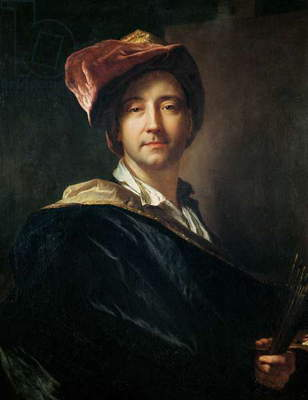 Self Portrait in a Turban, 1700 (oil on canvas)