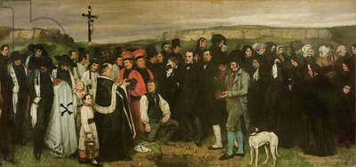 Burial at Ornans, 1849-50 (oil on canvas)