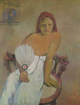 Girl with fan, 1902 (oil on canvas)