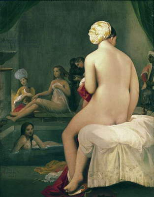 The Little Bather in the Harem, 1828 (oil on canvas)