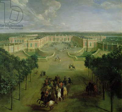 View of the Grand Trianon, 1722 (oil on canvas)