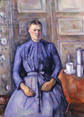 Woman with a Coffee Pot, c.1890-95 (oil on canvas)