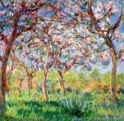 Printemps a Giverny, 1903 (oil on canvas)