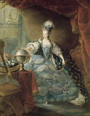 Portrait of Marie Antoinette (1755-93) Queen of France, 1775 (oil on canvas)