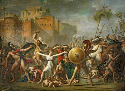 The Sabine Women, 1799 (oil on canvas)